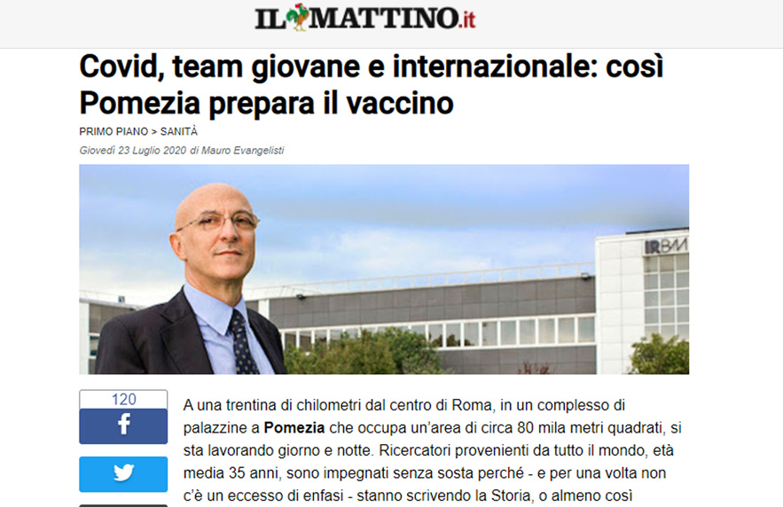 Covid, A Young International Team: That's How Pomezia Works On The Vaccine